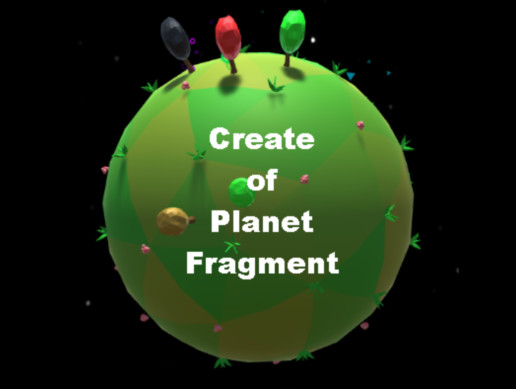 Create of Icosphere-based planet fragment