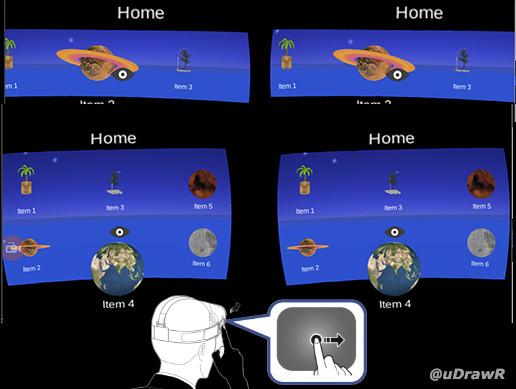Gear VR 3D Menu - Asset Store