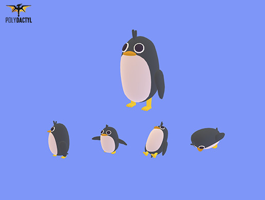 Pang the Penguin - Quirky Series