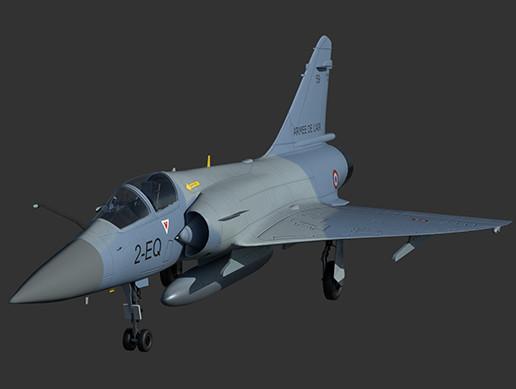 Mirage 2000 5-F Fighter plane