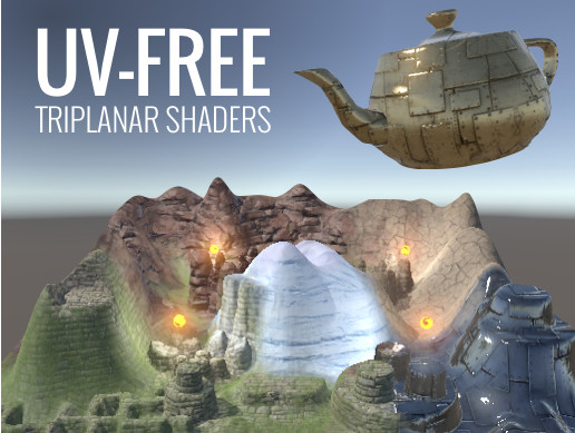 UV-Free Triplanar Shader Pack - Asset Store