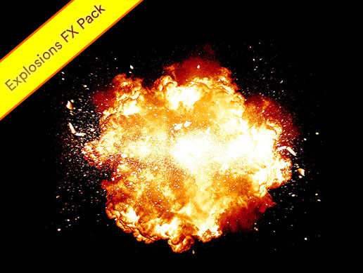 Bomb Explosions Fx Pack with Burning Fire