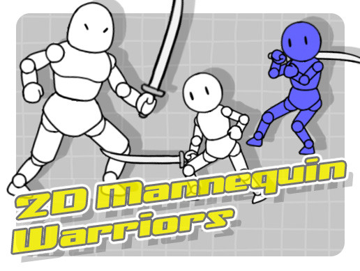 2D Mannequin Samurai Warriors