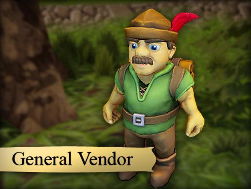 Pacha, General Vendor