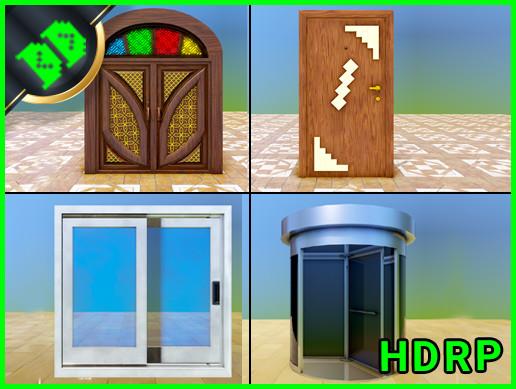 Door Pack 2 HDRP