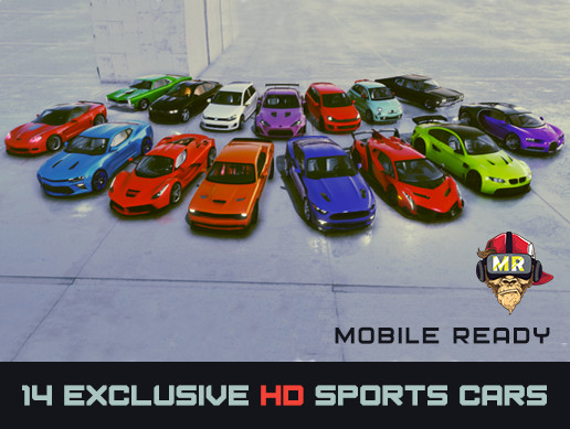 14 Exclusive HD Sports Cars Mobile Ready