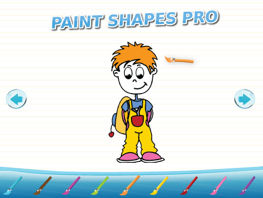 Paint Shapes Pro - Flood Fill