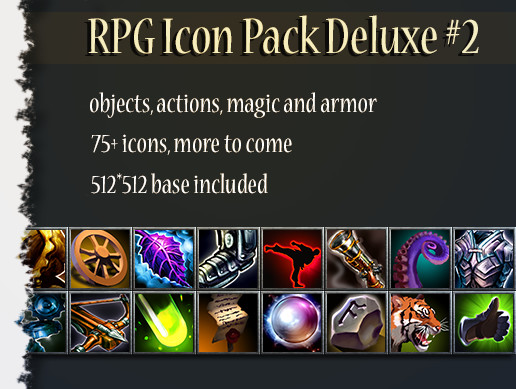 RPG Icon Pack Deluxe 2