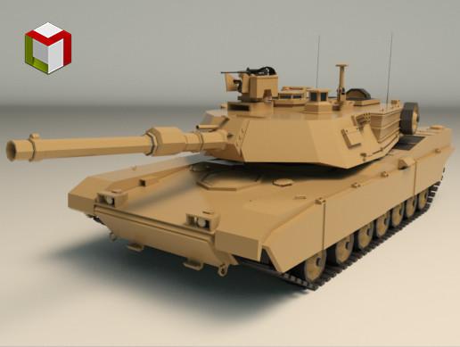 Low Poly Tank 02