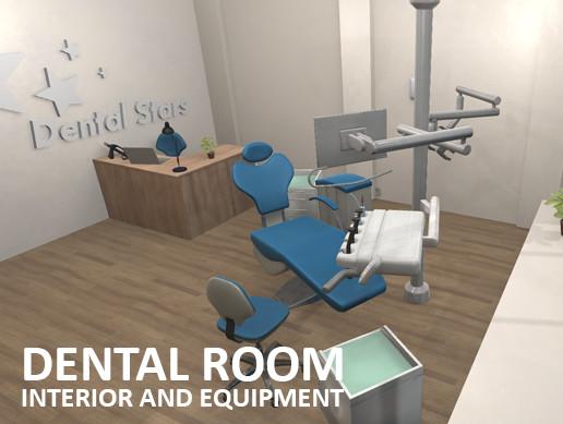 Dental room - interior and equipment