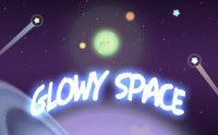 Glowy Space - 2D Toon Parallax