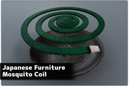 Japanese Furniture Mosquito Coil