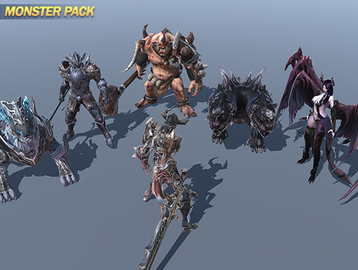FANTASY MONSTER PACK01