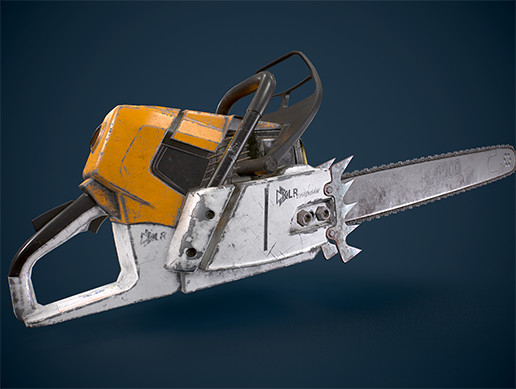 HQ Tools Chainsaw - Asset Store