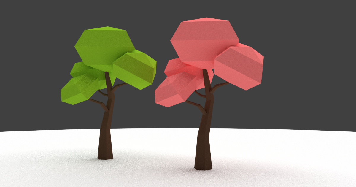 Low Poly Tree (LoopTroop)