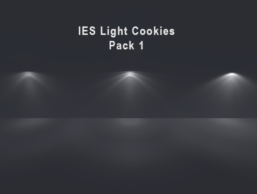 IES Light Cookies Pack 1