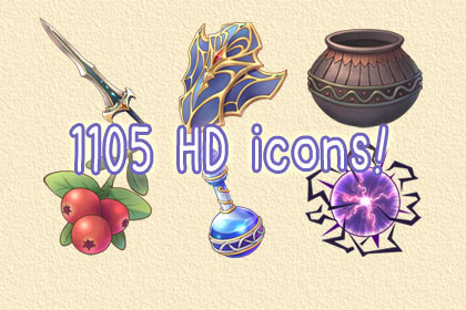 HD Icons Pack Vol.1