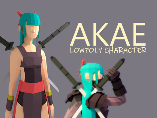 Akay | LOWPOLY CHARACTER