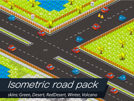 Isometric Road Pack