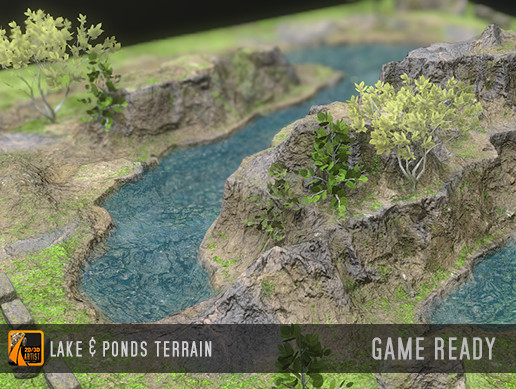 Terrain - Ponds and lake