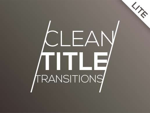 Clean Title Transitions - Lite