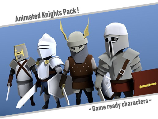 Toon Knights | Animated Character Pack - Asset Store