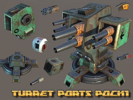 Turret Parts Pack 1