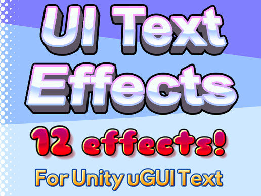 UI Text Effects - Asset Store