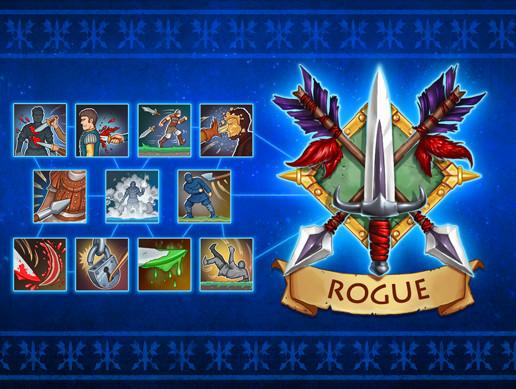 Skill icons. Rogue