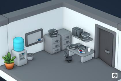 Mini Toon | Office Scene
