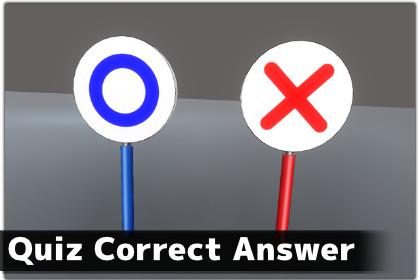 Quiz Correct Answer