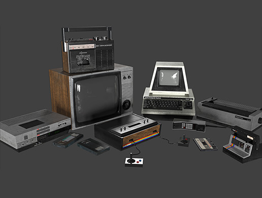 80s Electronics Pack