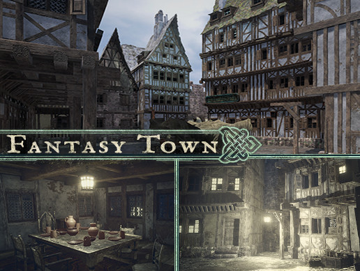 Fantasy Town - Asset Store