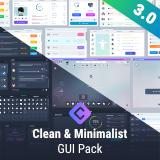 Clean & Minimalist GUI Pack