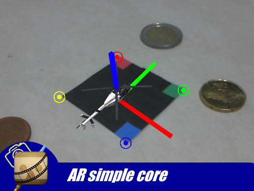 AR Simple Core Augmented Reality