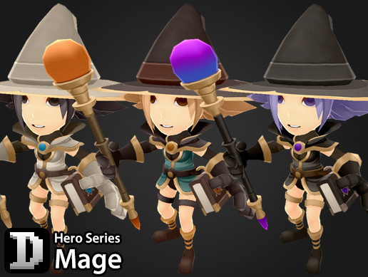 Hero Series - Mage