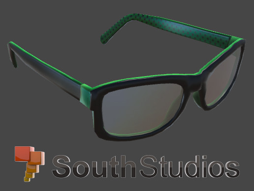 Green Dotted Glasses