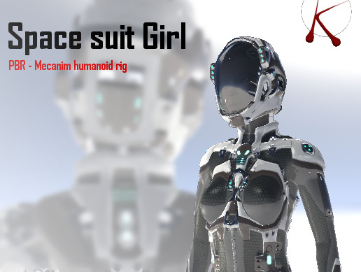 Space Suit Girl