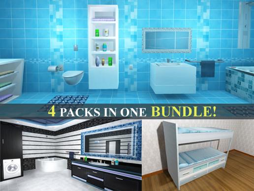 Furniture Bundle - Interior and Props