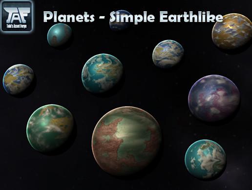 Planets - Simple Earthlike