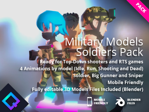 Military Models - Soldiers Pack