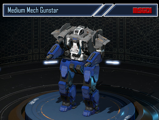 Medium Mech Gunstar
