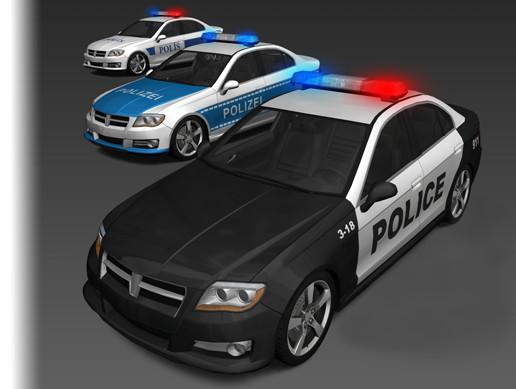 Generic Police Cars