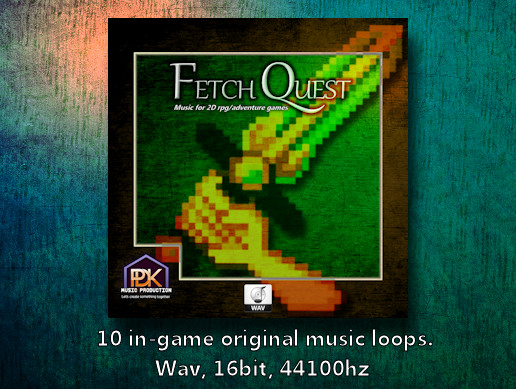 Fetch Quest 1 (music for 2d rpg/adventure games)