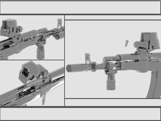 Weapon Attachments Detailed (PACK - 13)