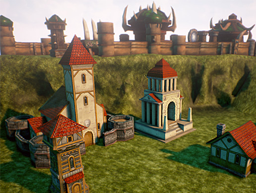 RTS Fantasy Buildings