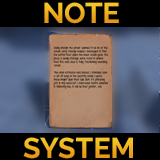 Letter & Note System