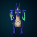 3D Young Dragon Pack