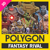 POLYGON Fantasy Rivals - Low Poly 3D Art by Synty