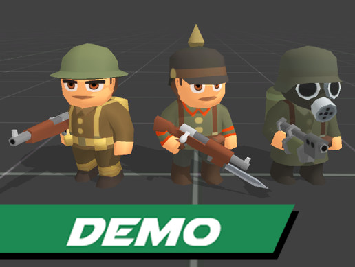 Toony Tiny WW1 Soldiers Demo